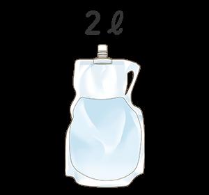 イラスト:腸管洗浄剤