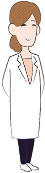画像:喜ぶ女性医師