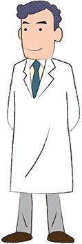 画像:男性医師