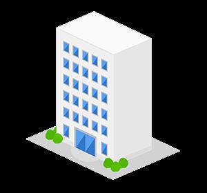 イラスト:建物