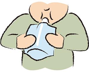 イラスト:尿素呼気検査
