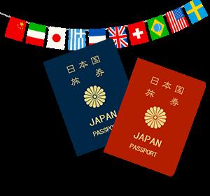 イラスト:パスポート